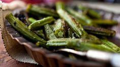 Crispy Shredded Okra With Tomato and Lemon Recipe - NYT Cooking
