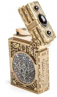S T Dupont by Tournaire Mayan Apocalypse Ligne 2 Lighter