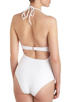 Swan and Only One Piece, #ModCloth