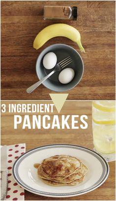 How To Make 3 Ingredient Pancakes