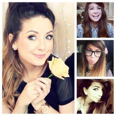 New Hair Cut zoella new haircut Zoella Hair, Zoe Sugg, Youtube Stars, New Haircuts, Pretty Hairstyles, Cute Couples, Youtubers, Love Her, Beautiful People