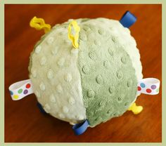 Fresh Poppy Design Quilt Patterns: Left over Minky project idea...minky balls...