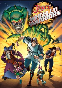 Jayce and the Wheeled Warriors.  More Saturday morning goodness.