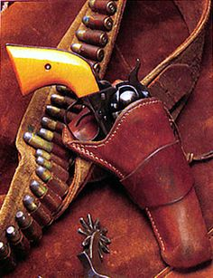 While John Wayne used many Colts in his movies. One of his personal guns, Wayne gave the Colt to Gary Hess who worked for his gas and oil exploration company, DECO. The maker of the Duke's holster rig remains a mystery.
