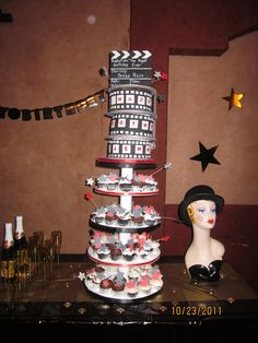 "Photo 2 of 12: Red, red carpet, Hollywood, Golden Statue / Birthday ""Jenna turns 9"" 