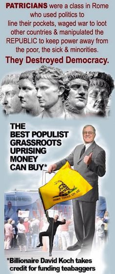 KOCH BROS...MASTERS OF THE TEABAGGER/REPUBLICAN PARTY ROBBING TAX PAYERS TO FEED THEIR GREED!!