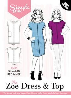 The Zoe Dress and Top