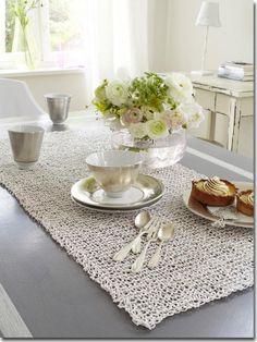 Crochet, encaje y trapillo blanco | Decorar tu casa es facilisimo.com