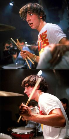http://custard-pie.com/ Keith Moon of The Who - erratic, frenetic spectacular drummer, hard to copy.
