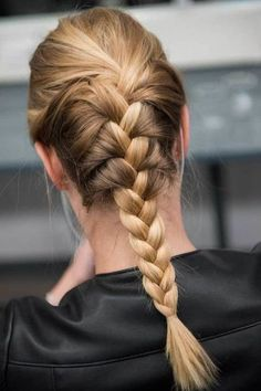 Plaits Hairstyles, Cool Hairstyles, Hair Plaits, 4 Strand Braids, Salon Pictures, Girls Short Haircuts, Hair Heaven, Different Hairstyles, Human Hair Extensions