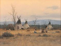 Artwork by Gene Speck, Council Fire, Made of Oil on board kp Native American Indians, Native Americans, Indian Paintings, First Nations, Artist Painting, Painting Inspiration, Fire, Fine Art, Artwork
