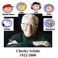 Charles Schultz ~ 1922-2000...<3  Thanks Mr Schulz!!