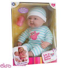 #muñecasberenguer #berenguerdolls #muñecasbebesdisy Muñecas Berenguer - muñeca bebé abrazable - 51cm