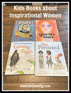 My Favorite Kids Books about Inspirational Women - LadydeeLG Good Books, My Books, Kids Around The World, Best Baby Gifts, Fiction And Nonfiction, Strong Girls, Chapter Books, Book Girl, Women In History