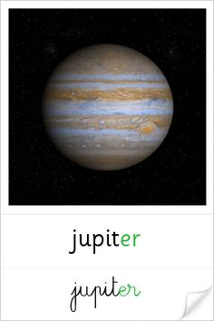 planète Jupiter Education Galaxy, Education World, Science Education, Sistema Solar, Space Bulletin Boards, Space Theme Classroom, Wild Weather, Outdoor Education, Environmental Education