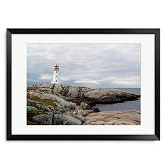 s Cove Lighthouse Cove Lighting, Online Art, Framed Art Prints, New Art, Lighthouse, Wall Art, Landscape, Artwork