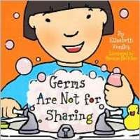 Germs Are Not for Sharing by Elizabeth Verdick. Great for introducing bathroom/sink procedures. I got the board book version of this. It's a little simpler and makes a good, quick read