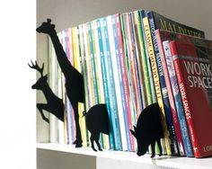Originales separadores para tus libros http://www.micasarevista.com/ideas/espacios/espacios41/espacios41_5.shtml