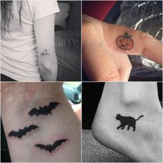 24 Halloween Tattoos That Will Get You in the Spooky Spirit