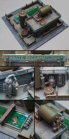 Imperial Waste Reclamatorum Terrain