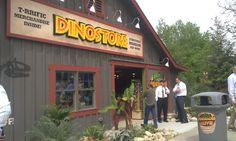New: Dinosaurs Alive! on Adventure Island at Cedar Point.