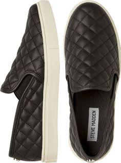 Steve Madden Slip-On Shoe // seriously stylish sneaks