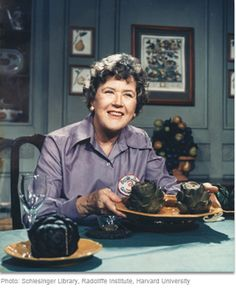 Julia Child attended Le Cordon Bleu when she was 37.  Here's to pursuing your passion at 30+ (or 40+ or 50+...).
