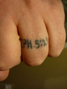 """wedding tattoo - """"Husbands, love your wives, just as Christ loved the church and gave himself up for her"""" - Ephesians 5:25  (Of course I think it should go inside the wedding band instead)"""