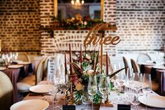 table number // charleston wedding // upstairs at midtown // cana dunlap photo