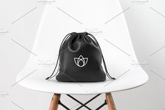 Lotus and Yoga Logo Design  by Nadezda Gudeleva on @creativemarket