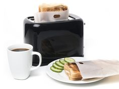 Toastbags for the toaster. Perfect if you're gluten intolerate and don't want your own toaster.