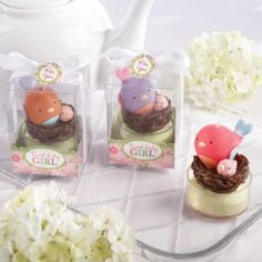 Tweet Baby Girl Candle Baby Shower Favors 3ct   Party City Would Be Cool To  Get