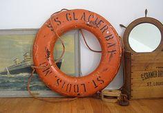 Vintage Nautical life preserver