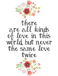 The Great Gatsby Quote - Never the same love twice