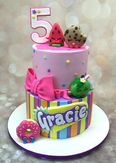 shopkins cakes https://www.facebook.com/CakeAChanceOnBelinda