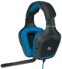 Logitech G230 Stereo Gaming Headset with Mic by Logitech, http://amzn.to/2rEsQaW