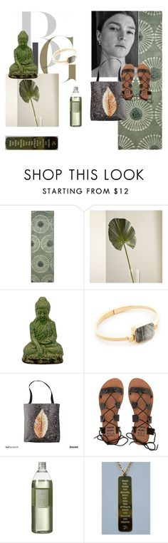 """""""zen style by roxariaone"""" by roxariaone ❤ liked on Polyvore featuring Safavieh, Crate and Barrel, Urban Trends Collection, Ringly, Billabong and Jaeci"""
