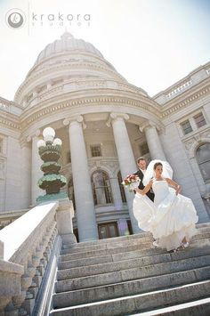 Beautiful Red and Black Wedding Inspired By Couple's Alma Mater!