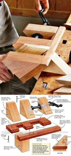 Miter Shooting Block Plans - Joinery Tips, Jigs and Techniques | WoodArchivist.com