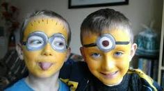 Image result for face painting avengers