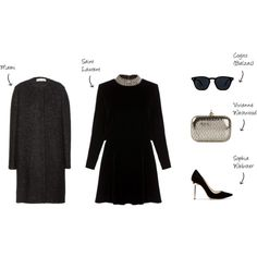 """Velvet Dress"" by jyzhao on Polyvore"