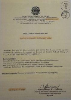 6. A INICIATIVA DO PROCURADOR-GERAL DO MPDFT          O Procurador-Geral do MPDFT, LEONARDO ROSCOE BESSA, instaura um primeiro procediment...
