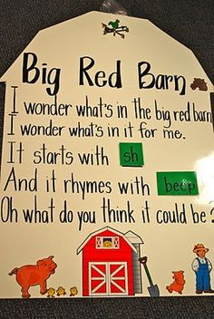 This is a great activity to use to get students to guesss animals using rhymes.  Have students create their own, then have them share with their small groups and see who can guess the animal first.