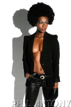 Natural hair Rules! : Photo
