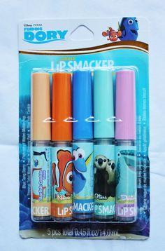 Lip Smacker Disney Finding Dory 5pc Set Liquid Flavored Gloss #LipSmacker #Disney #findingdory