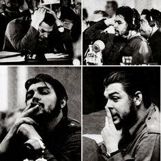 Comandante Ernesto Che Guevara - the Argentine-Cuban guerrilla fighter, revolutionary leader,. Che Guevara Quotes, Che Guevara Images, Fidel Castro, Che Quevara, Military Beret, Ernesto Che Guevara, Red Army, Guerrilla, Revolutionaries