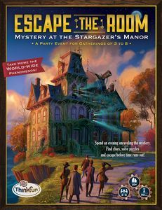 3-8 Players / 90 min. –– Escape the Room: Mystery at the Stargazer's Manor on BoardGameGeek