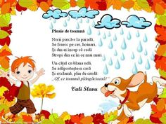 Poezii Autumn Activities, Activities For Kids, Projects For Kids, Crafts For Kids, Experiment, Kindergarten Addition Worksheets, School Coloring Pages, Art Drawings For Kids, Fall Diy
