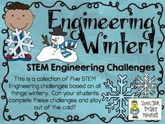 STEM Engineering Challenges Pack ~ Engineering Winter ~ Se