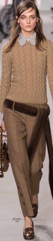 Michael Kors Fall 2016 RTW women fashion outfit clothing style apparel RORESS closet ideas